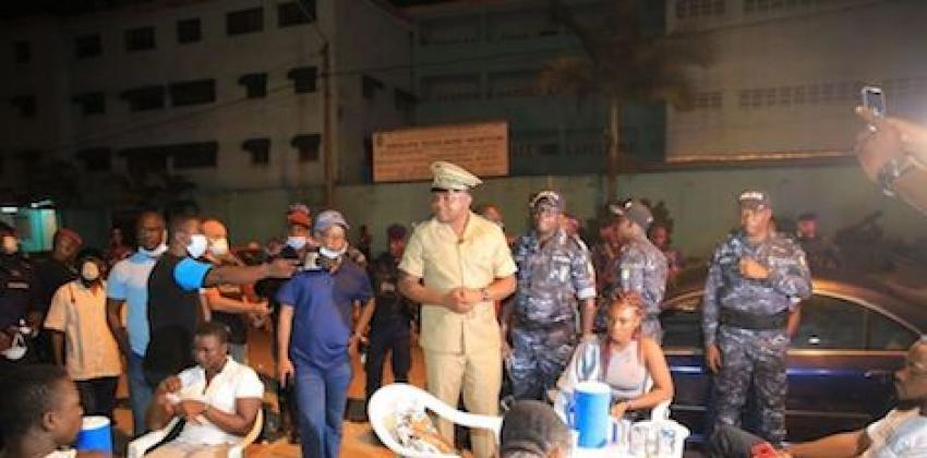 """Le Préfet d'Abidjan Vincent Toh Bi Irié : """" Les points chauds d ..."""